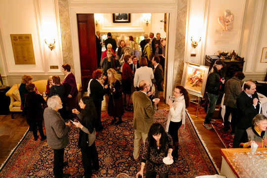West Wind Fine Art's Show at the St. Botolph Club, Boston, MA 2014