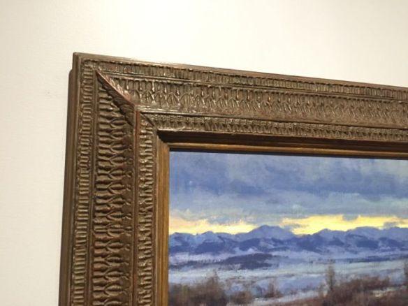 frame detail of aspevigs form my studio window