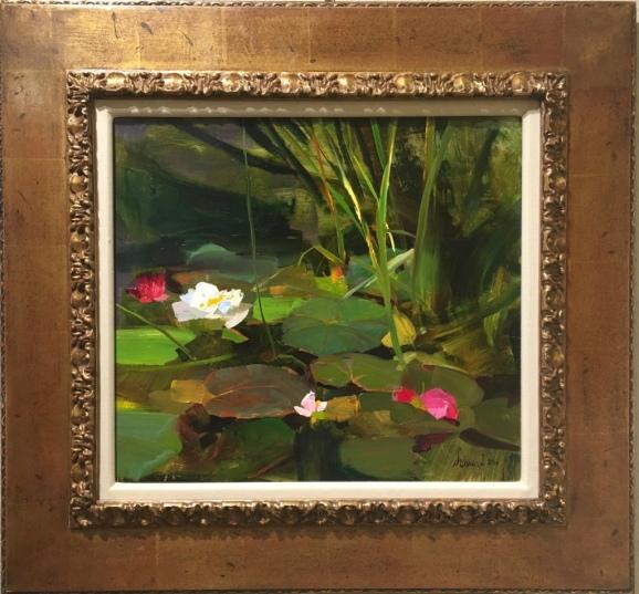 water-lilies-oil-richard-schmid