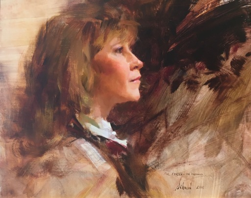 Portrait of Kristen Thies © Richard Schmid. 16 x 20jpg