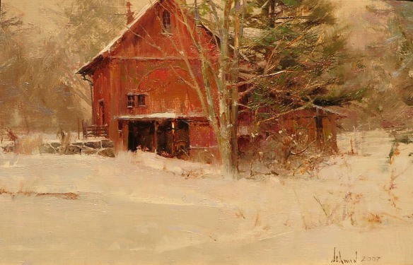Saxton's River Barn ©Richard Schmid 2007