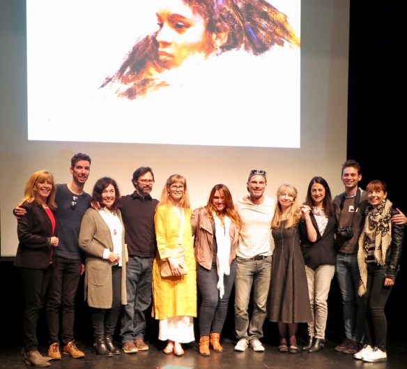 Kristen and The Artists on stage at Richard Schmid Tribute 9:22.18 jpeg